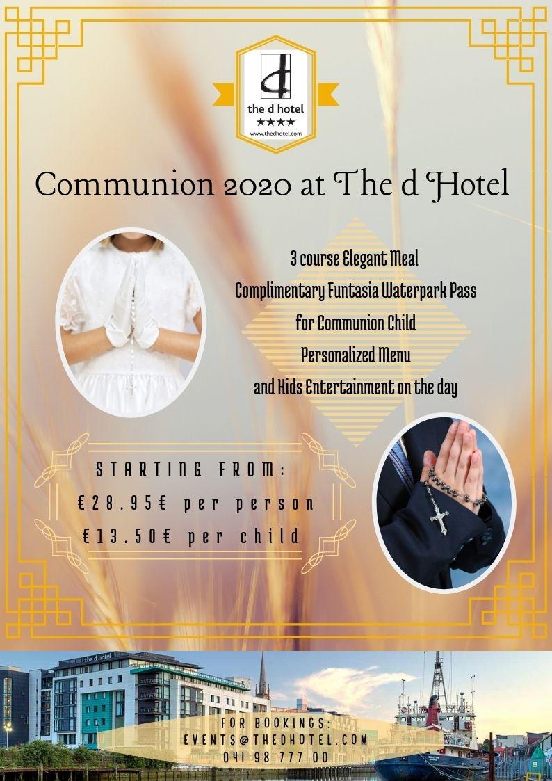 communion poster 2020